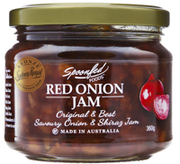 Award winning Savoury onion & Shiraz jam